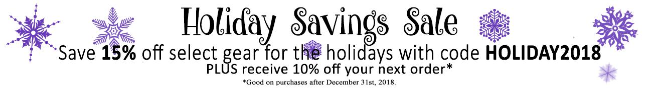 Holiday Savings Sale 2018