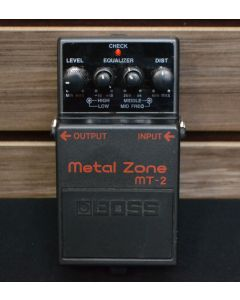 Boss MT-2 Metal Zone Distortion Effects Pedal 11820
