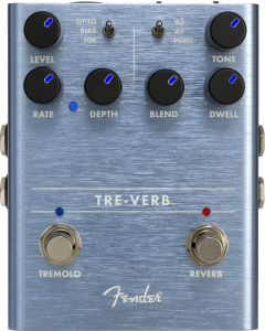 Fender Tre-Verb Digital Reverb Tremolo Pedal