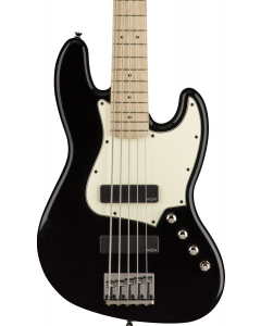 Squier Contemporary Active Jazz Bass V HH, Maple FB, Black