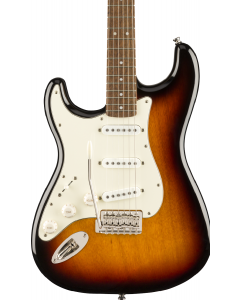 Squier Classic Vibe '60s Stratocaster Left-Handed Electric Guitar. Laurel FB, 3-Color Sunburst