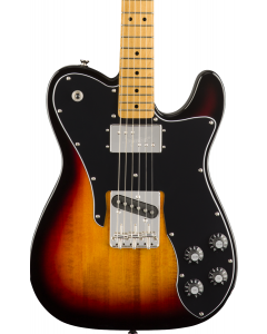 Squier Classic Vibe '70s Telecaster Custom Electric Guitar. Maple FB, 3-Color Sunburst