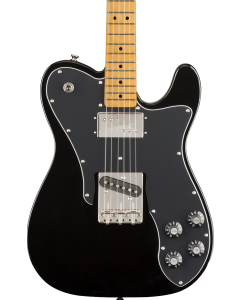 Squier Classic Vibe '70s Telecaster Custom Electric Guitar. Maple FB, Black