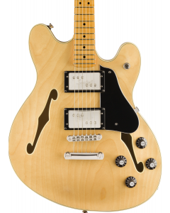 Squier Classic Vibe Starcaster Electric Guitar. Maple Fingerbaord, Natural