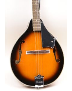 Ibanez M510BS A-Style Mandolin, Brown Sunburst TGF11