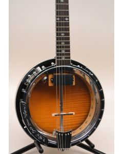 Gold Tone GT-750 Banjitar 6 String Acoustic Electric Banjo W/CASE  33118