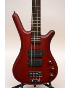 Warwick RockBass Corvette $$ 4-String Electric Bass Burgundy Red Oil (for parts only) SN 7117