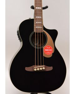Fender Kingman Acoustic Electric Bass V2 Black Walnut Fretboard TGF11
