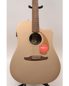 Fender Redondo Player Acoustic-Electric Guitar Bronze Satin TGF11