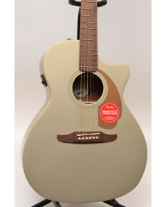 Fender Newporter Player Acoustic Electric Guitar Champagne TGF11