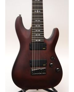 Schecter Omen 8 8-String Electric Guitar Walnut W/BAG SN 0553