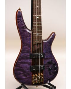 Ibanez SR2400APL Quilted Maple Top Bass Amethyst Purple Low Gloss TGF11