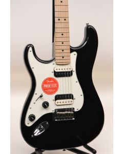 Squier Contemporary Stratocaster HH Electric Guitar Black Metallic LEFTY TGF11