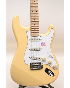 Fender Artist Series Yngwie Malmsteen Stratocaster Electric Guitar Vintage White TGF11