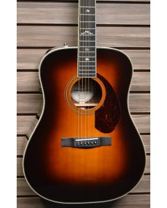 Fender PM1 Deluxe Acoustic-Electric Guitar Sunburst w/ Case SN 2375