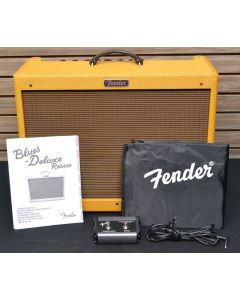 "Fender Blues Deluxe Reissue 40W 1x12"" Combo Amp Tweed SN9224"