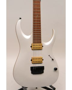 Ibanez JBM10FXPWM Jake Bowen Signature Electric Guitar Pearl White Matte TGF11