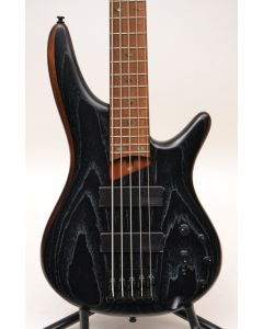Ibanez SR675SKF 5-String Electric Bass Silver Wave Black Flat TGF11