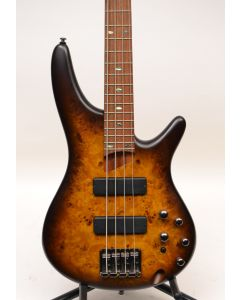 Ibanez SR500PB 4-String Electric Bass Guitar Brown Burst Flat TGF11