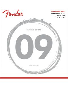 Fender 350L Stainless Steel Electric Guitar Strings Light 9-42