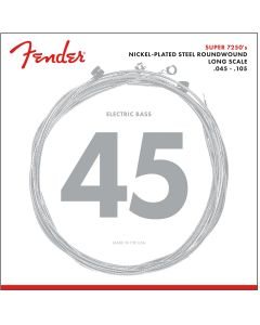 Fender 7250m Nickel-plated Steel Roundwound Electric Bass Strings .045-.105