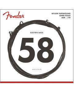 Fender 9120 Nylon Tapewound Bass Strings 58-110