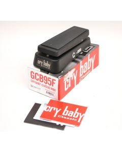 Dunlop GCB95F Crybaby Classic Fasel Inductor Wah Pedal SNY777
