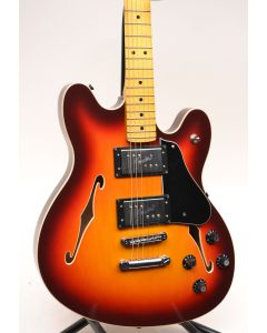 Fender Modern Player Starcaster 3-Tone Sunburst W/BAG SN1730