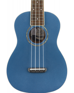 Fender Zuma Classic Concert Ukulele. Walnut FB, Lake Placid Blue