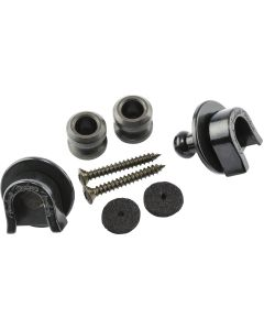 Fender Strap Locks And Buttons Set - Black