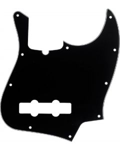 Fender Pickguard Jazz Bass 10 Hole 3-ply BLK