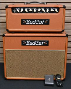 "BadCat Black Cat 30 Head and 1x12 Cab ""Ostrich"" (2019 Like New)  SN1002"