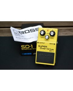Boss SD-1 Super Overdrive Effects Pedal SN 6417