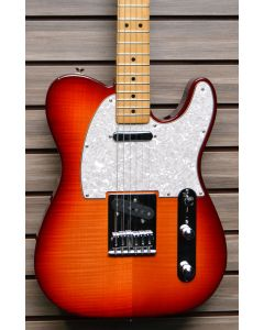 Fender Standard Plus Top Telecaster Special Edition Aged Cherry Burst W/ BAG SN4335