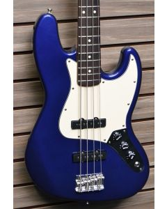 1999 Fender Mexican Standard Jazz Bass Blue SN6461