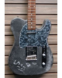 S101 Standard Telecaster Style Electric Guitar Custom Distressed Finish 111319