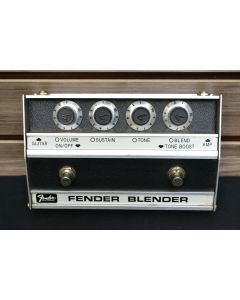 Fender Blender Reissue Fuzz Effects Pedal SN 0156