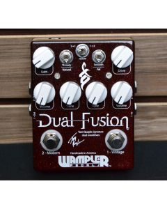 Wampler Dual Fusion Overdrive Effects Pedal 12419