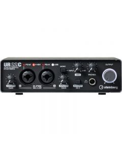 Steinberg UR22C 2IN/2OUT USB 3.0 Type C Audio Interface TGF11