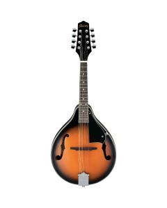 Ibanez M510BS A-Style Mandolin, Brown Sunburst TGF33