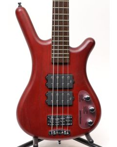 Warwick Rockbass Corvette $$ 4 Red Oil 4-String Electric Bass 1584380100CPASHAWW