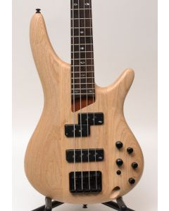 Ibanez SR650NTF Electric Bass - Natural Flat TGF11