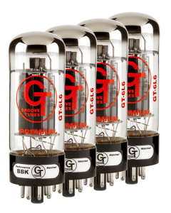 Groove Tubes Gold Series GT-6L6-R Matched Power Tubes Medium (4-7 GT Rating)