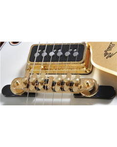 Gretsch Bridge Assembly, Synchro-Sonic, Gold with Base