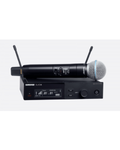Shure SLXD24/B58-G58 Wireless System with Beta 58 Microphone. G58 Band