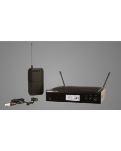Shure BLX14R/W85-H11 Wireless Rack-Mount Presenter System with WL185 Lav Mic. H11 Band