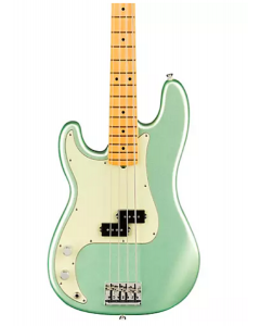 Fender American Professional II Precision Bass Left-Handed. Maple Fingerboard, Mystic Surf Green