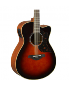 Yamaha AC1M TBS Concert Acoustic-Electric Guitar Tobacco Sunburst TGF11