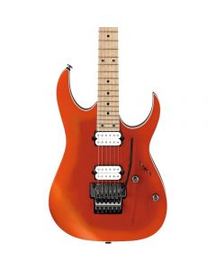 Ibanez RG652AHMSOMF Prestige Electric Guitar w/Case Orange Metallicburst Flat TGF11