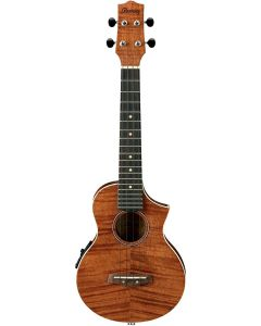 Ibanez UEW15E-OPN Acoustic/Electric Concert Ukulele Open Pore Natural